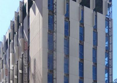 Hotel SB GLOW en fase de montaje
